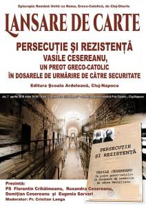 Lansare de Carte - Vasile Cesereanu