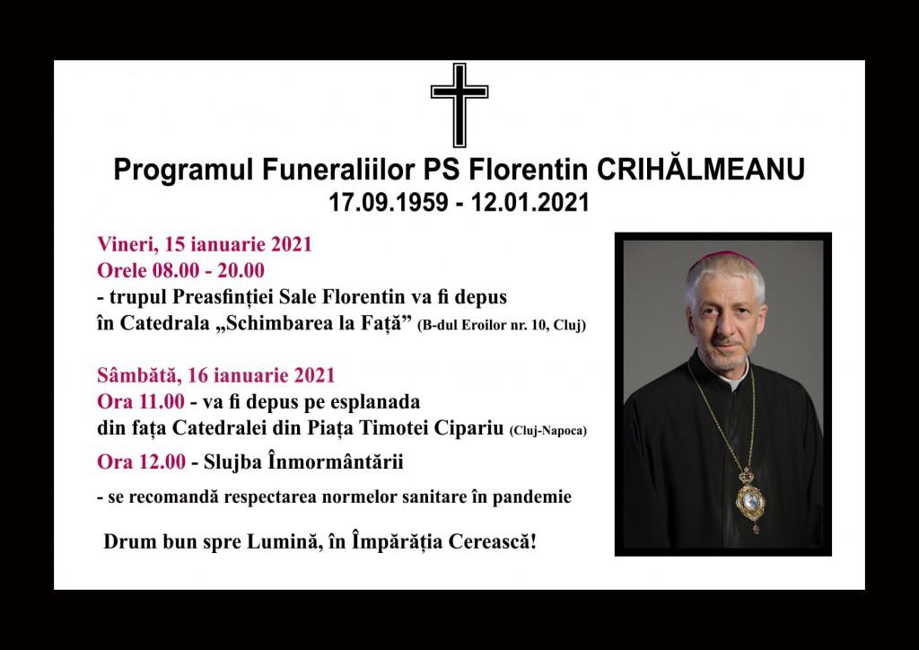 funeralii PS Florentin