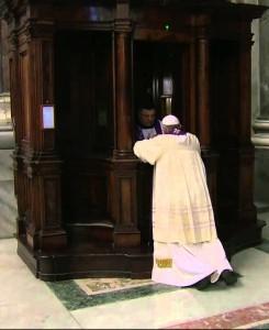 spovada marturisire Papa